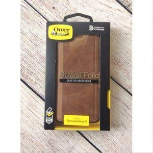 promo code 3ec8f 5d21e OtterBox Strada Folio Case Samsung Galaxy S9 Brown NWT
